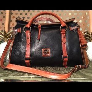 Dooney & Bourke Gorgeous Leather Large Satchel New